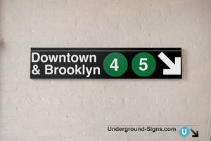 Downtown & Brooklyn 4 5