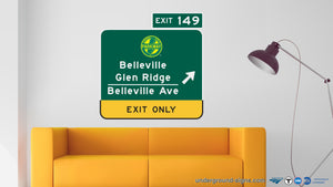 Belleville-Glen Ridge-Belleville Ave