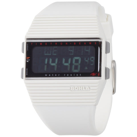 BEAMS BOHLA WHITE DIGITAL WATCHES BW 1501