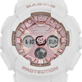 CASIO BABY-G METALLIC FACE DIGITAL & ANALOG WOMEN'S RESIN WATCH BA-130-7A1