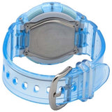CASIO BABY-G MARINE RESORT CLEAR BLUE DIGITAL WATCH BGA-131-2B