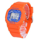 CASIO BABY-G GRAFFITI SPLASHED FACE LADIES WATCH BGD-560SK-4