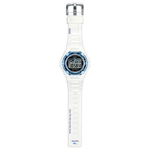 CASIO BABY-G LOVE THE SEA AND THE EARTH LADIES SOLAR WATCH