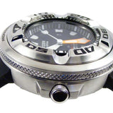 CITIZEN ECO-DRIVE ECO ZILLA STEEL 300m PROFESSIONAL DIVERS WATCH BJ8050-08E