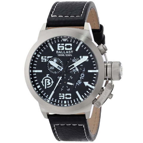 BALLAST MEN'S SWISS QUARTZ CHRONOGRAPH WITH DATE WATCH BL-3101-01