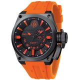 BALLAST MEN'S ANALOG SWISS QUARTZ ORANGE WATCH BL-3108-0A