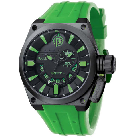 BALLAST MEN'S ANALOG DISPLAY SWISS QUARTZ GREEN WATCH BL-3108-0B