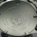 CITIZEN ECO-DRIVE COMPASS TITANIUM SOLAR RUBBER WATCH BN4026-09F