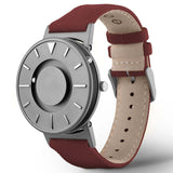 Eone The Bradley Classic Canvas - Wine Red Watch BR-C-Red