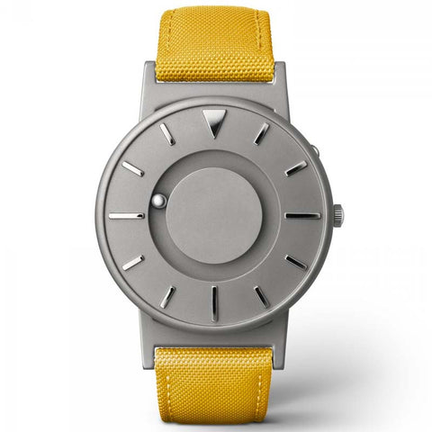 Eone The Bradley Classic Canvas- Mustard Yellow Watch BR-C-Yellow