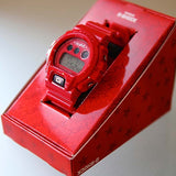 CASIO G-SHOCK x X-GIRL 20th ANNIVERSARY RED DIGITAL WATCH DW-6900