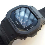 CASIO G-SHOCK MILITARY BLACK RESIN MEN'S DIGITAL WATCH DW-5600BBN-1