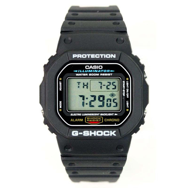 Casio g shock luminescence light watch dw 5600e 1v watchain for Luminescence watches