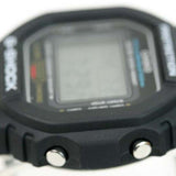 CASIO G-SHOCK LUMINESCENCE LIGHT DIGITAL RESIN WATCH DW-5600E-1