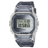 CASIO G-SHOCK SKELETON CLEAR GRAY RESIN MEN'S DIGITAL WATCH DW-5600SK-1