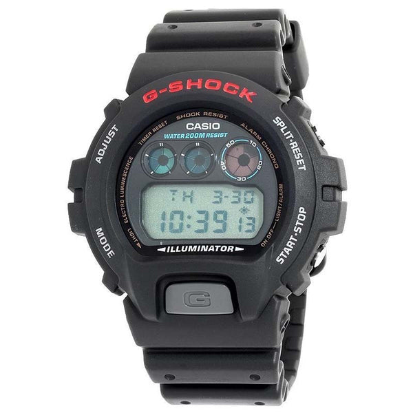 Casio g shock luminescence light watch dw 6900 1v watchain for Luminescence watches