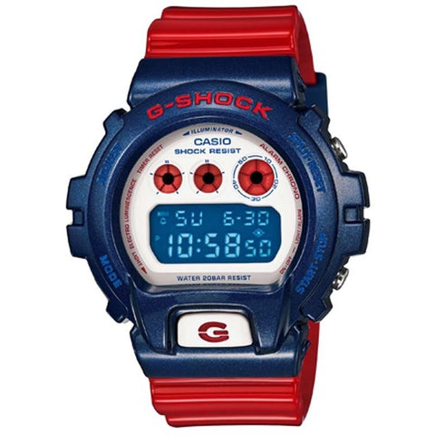 CASIO G-SHOCK BLUE & RED SERIES MULTI-FUNCTION DIGITAL WATCH DW-6900AC-2D