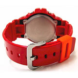 CASIO G-SHOCK RED PLASTIC DIGITAL WATCH DW-6900CB-4D