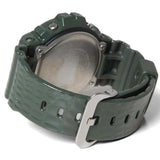 CASIO G-SHOCK GREEN CROCODILE TEXTURE RESIN WATCH DW-6900CR-3D