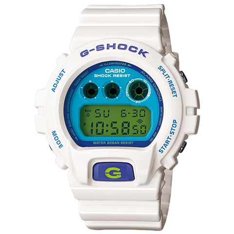 CASIO G-SHOCK WHITE RESIN STRAP WATCH DW-6900CS-7D