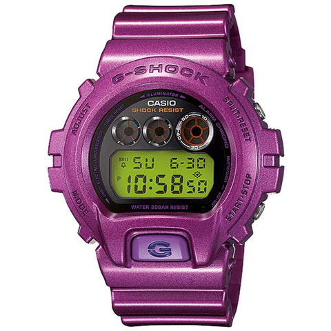 CASIO G-SHOCK METALLIC PURPLE WATCH DW-6900NB-4D
