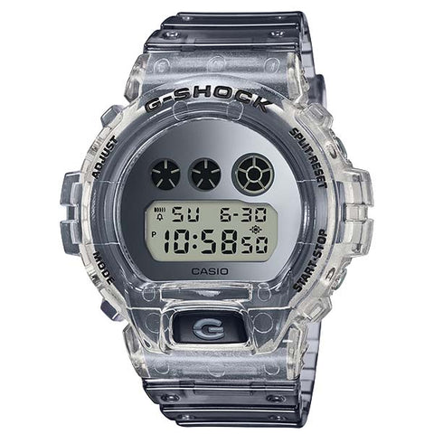 CASIO G-SHOCK SEMI-TRANSPARENT RESIN WITH METALLIC COLORS WATCH DW-6900SK-1