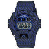 CASIO G-SHOCK BLUE ZEBRA CAMOUFLAGE JAPAN MODEL WATCH DW-6900ZB-2JF