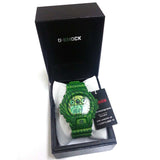 CASIO G-SHOCK GREEN ZEBRA CAMOUFLAGE SERIES JAPAN MODEL WATCH DW-6900ZB-3JF