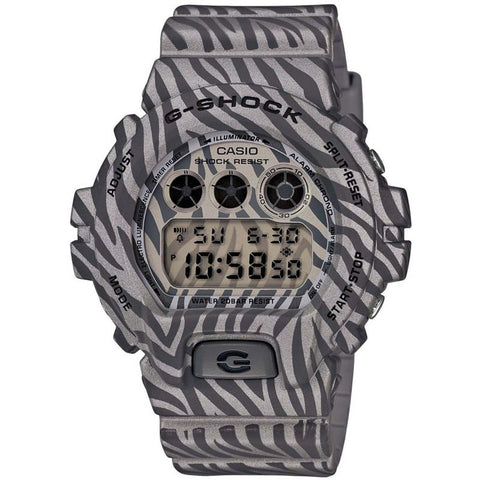 CASIO G-SHOCK GREY ZEBRA CAMOUFLAGE SERIES JAPAN MODEL WATCH DW-6900ZB-8JF