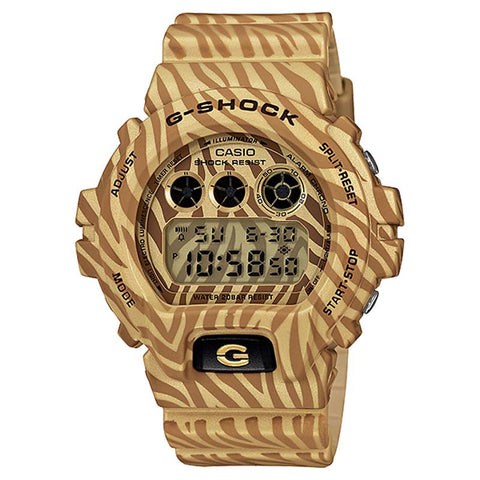 CASIO G-SHOCK BROWN ZEBRA CAMOUFLAGE JAPAN WATCH DW-6900ZB-9JF