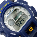 CASIO G-SHOCK 200M BLUE RESIN QUARTZ DIGITAL WATCH DW-9052-2V