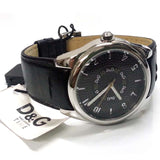 Dolce & Gabbana Midsize Sandpiper Collection Leather Watch DW0261 - SALE
