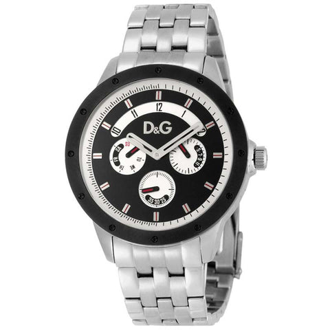 Dolce & Gabbana Men's Stainless Steel Chronograph Quartz Watch DW0604 - SALE