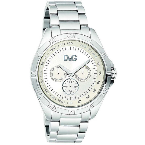 Dolce & Gabbana Chamonix Mens Quartz Stainless Steel Watch DW0651 - SALE