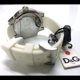 Dolce & Gabbana Women's White Silicon Strap Quartz Watch DW0746 - SALE