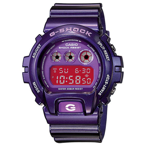 CASIO G-SHOCK METALLIC PURPLE WATCH DW-6900CC-6D