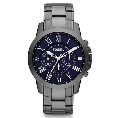 FOSSIL CHRONOGRAPH STAINLESS STEEL WATCH FS4831