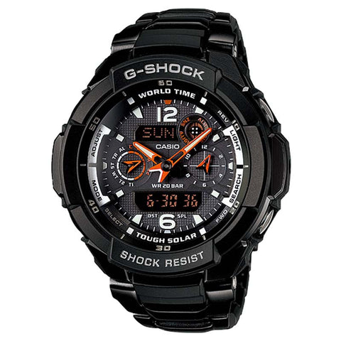 CASIO G-SHOCK GRAVITY DEFIER TOUGH SOLAR WATCH G-1250BD-1A