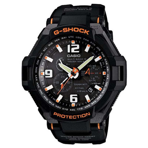CASIO G-SHOCK GRAVITY DEFIER TOUGH SOLAR WATCH G-1400-1A