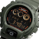 CASIO G-SHOCK TOUGH SOLAR MILITARY OLIVE GREEN RESIN WATCH G-6900KG-3D