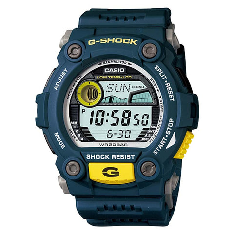 CASIO G-SHOCK RESCUE DIGITAL SPORT BLUE RESIN WATCH G-7900-2D