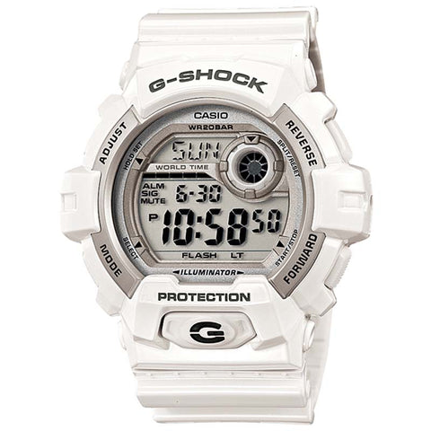 CASIO G-SHOCK X-LARGE WHITE RESIN DIGITAL WATCH G-8900A-7D