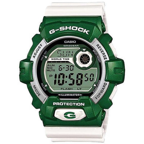 CASIO G-SHOCK CRAZY COLORS MEN'S GREEN DIGITAL WATCH G-8900CS-3