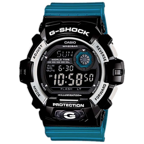 CASIO G-SHOCK BIG CASE COMBINATIONS WILD COLOR DIGITAL WATCH G-8900SC-1B