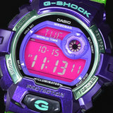 CASIO G-SHOCK BIG CASE PURPLE & GREEN COLOR DIGITAL WATCH G-8900SC-6