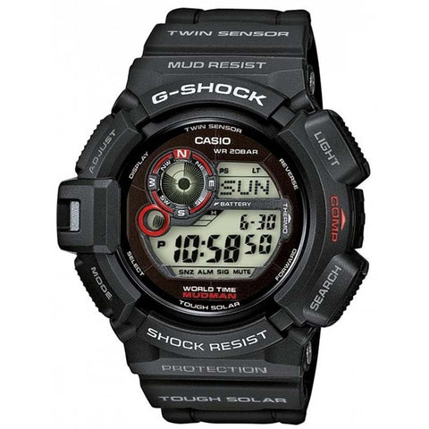 CASIO G-SHOCK MUDMAN COMPASS TOUGH SOLAR BLACK WATCH G-9300-1D