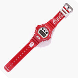 CASIO G-SHOCK x APE x COCA COLA LIMITED EDITION DIGITAL RED WATCH DW-6900FS