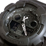 CASIO G-SHOCK X-LARGE ALARM CHRONOGRAPH DIGITAL WATCH GA-100-1A1