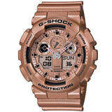 CASIO G-SHOCK 200M CRAZY GOLD COLOR DIGITAL WATCH GA-100GD-9