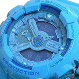 CASIO G-SHOCK X-LARGE G BLUE RESIN DIGITAL ANALOGUE WATCH GA-110B-2D